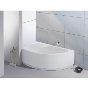 Bathtub Spectra corner 1700x1000 left with integrated apron