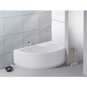 Bathtub Spectra corner 1700x1000 right with integrated apron