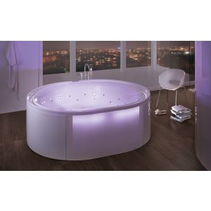 Bathtub Ergo+ oval 2000x1600 freestanding