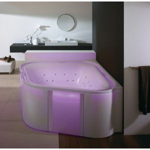 Bathtub Ergo+ corner 1640 freestanding