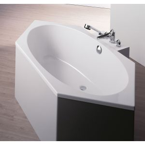 Bathtub Armada hexagonal 2000x900 left