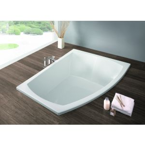 Bathtub Largo asymmetric 1800x1300 right