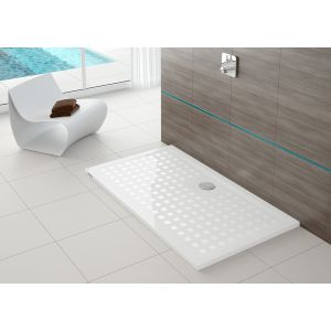 Shower tray Muna 800x750 with anti-slip coating