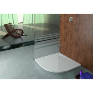 Shower tray Muna quarter circle 900x900
