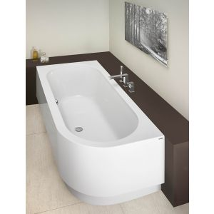 Bathtub Happy D. 1800x800 left with integrated apron