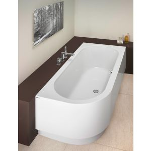 Bathtub Happy D. 1800x800 right with integrated apron