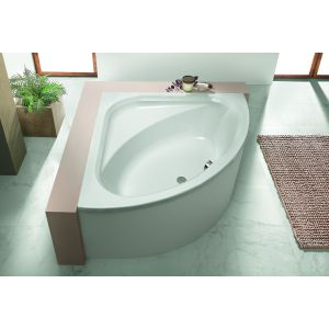 Bathtub Parana corner 1400 with loose apron
