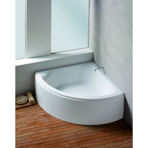 Bathtub Scelta corner 1500 with loose apron