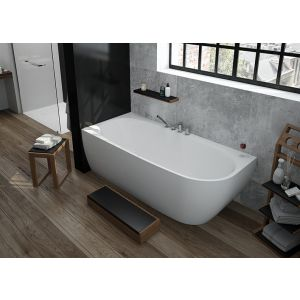 Bathtub iSensi back-to-wall monoblock 1800x800 left