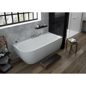 Bathtub iSensi corner monoblock 1800x800 right
