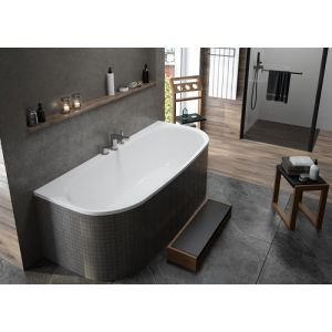 Bathtub iSensi back-to-wall 1800x800