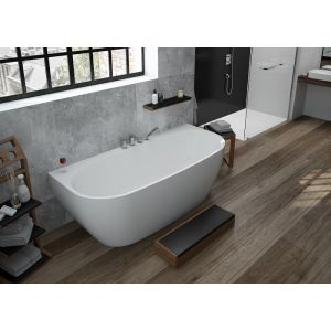 Bathtub iSensi back-to-wall monoblock 1800x800
