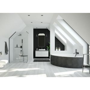 Bathtub iSensi back-to-wall 1900x900