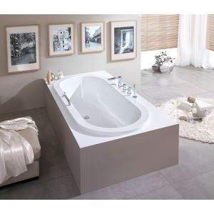 Bathtub Scelta oval 2000x900 left