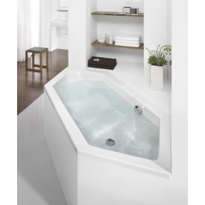 Bathtub Scelta hexagonal 2000x900 left