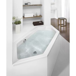 Bathtub Scelta hexagonal 2000x900 right