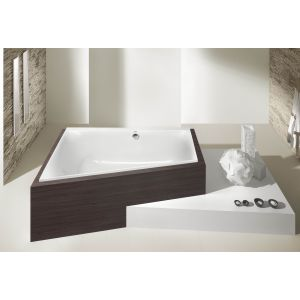 Bathtub Thasos trapeze-shaped 1500x1000 right