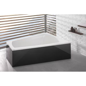Bathtub Largo trapeze-shaped 1800x1400 right