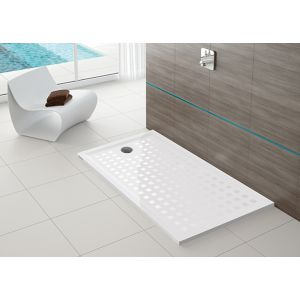 Shower tray Muna S 900x700 with anti-slip coating