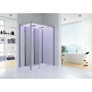 Steam cabin SensePerience 1800x1000 right, without shower tray