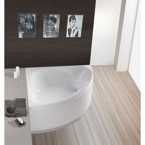Bathtub Spectra corner 1400 with loose apron