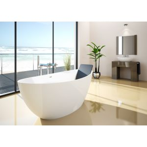 Bathtub Namur 1600x750 freestanding
