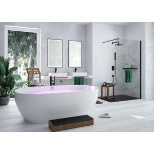 Badewanne iSensi Oval Monoblock Überlaufbefüllung 1900x1200