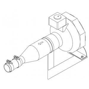 Zuluftgebläse 230V für Dampfgeneratoren