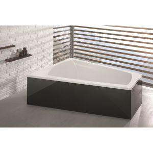 Badewanne Largo Trapez 1800x1400 links