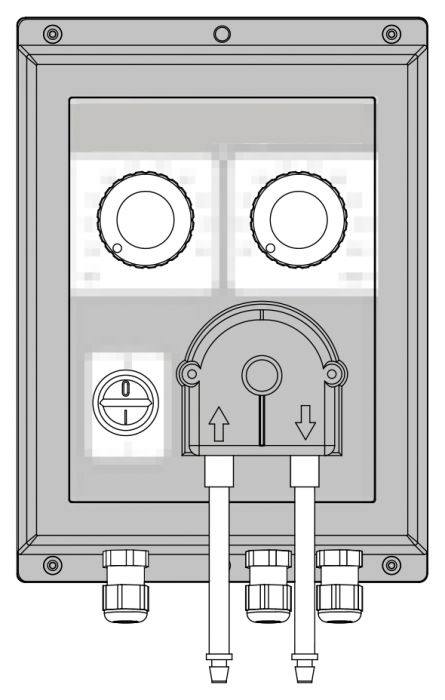 Fragrance pump steam generator Comfort