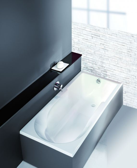 Spectra rectangular with shower area