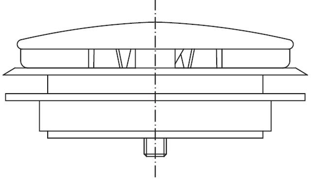 Adjustable ventilation valve for steam generator
