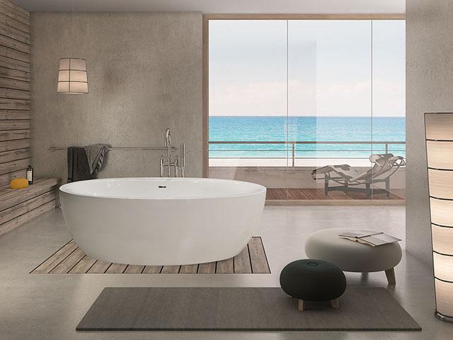 Die freistehende Badewanne Cabo