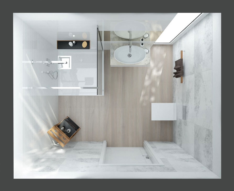 A feel-good bathroom for everyone – small can be beautiful.