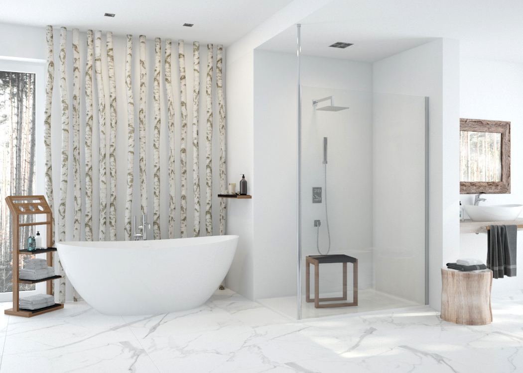 The bathroom of your dreams - use the complete solution